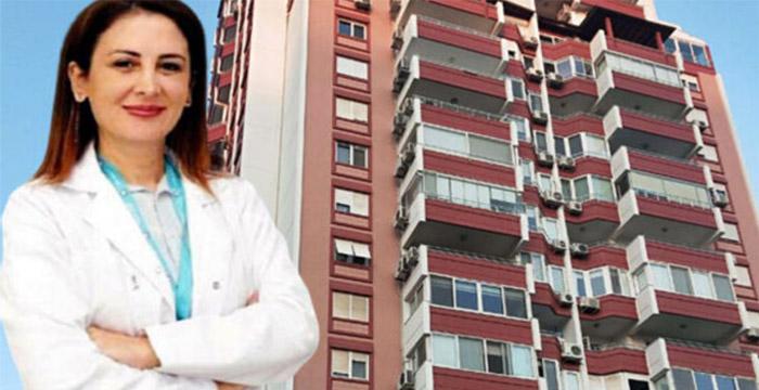 Psikiyatri uzmanı doktor 12'nci kattaki balkondan düştü