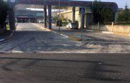 Kandıra Devlet Hastanesi yoluna asfalt çalışması