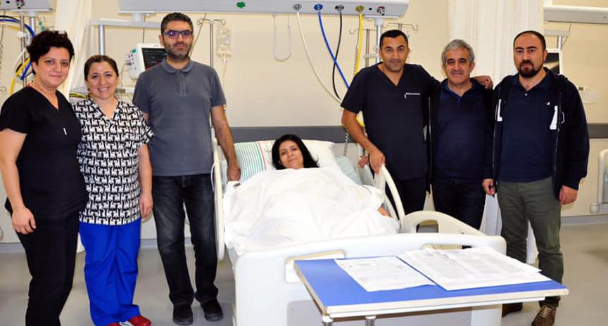 Kalp Deliğine Manisa Şehir Hastanesinde Ameliyatsız Çözüm