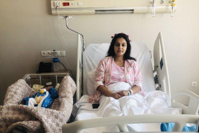 Ankara Şehir Hastanesinde lohusa şerbeti dağıtıldı