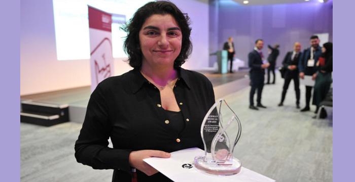 Kalp Cerrahı Dilek Gürsoy, Alman Tıp Ödülü'nü aldı