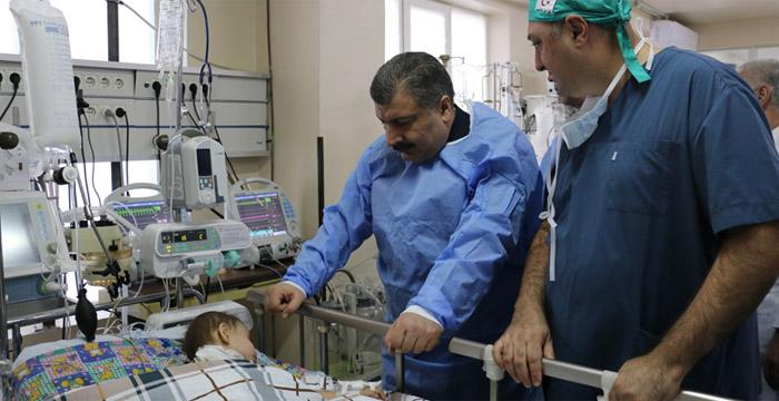 Bakan Koca, Özbekistan'da Hastaları Ziyaret Etti!