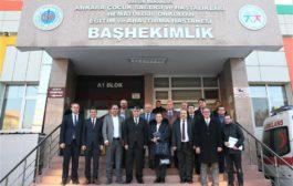 Ankara'nın ilk yataklı Çocuk Ergen Madde Bağımlığı Tedavi Merkezi Açılıyor