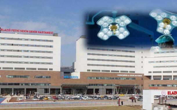 Elazığ Fethi Sekin Şehir Hastanemizde ileri teknoloji ile operasyon süresi kısaldı