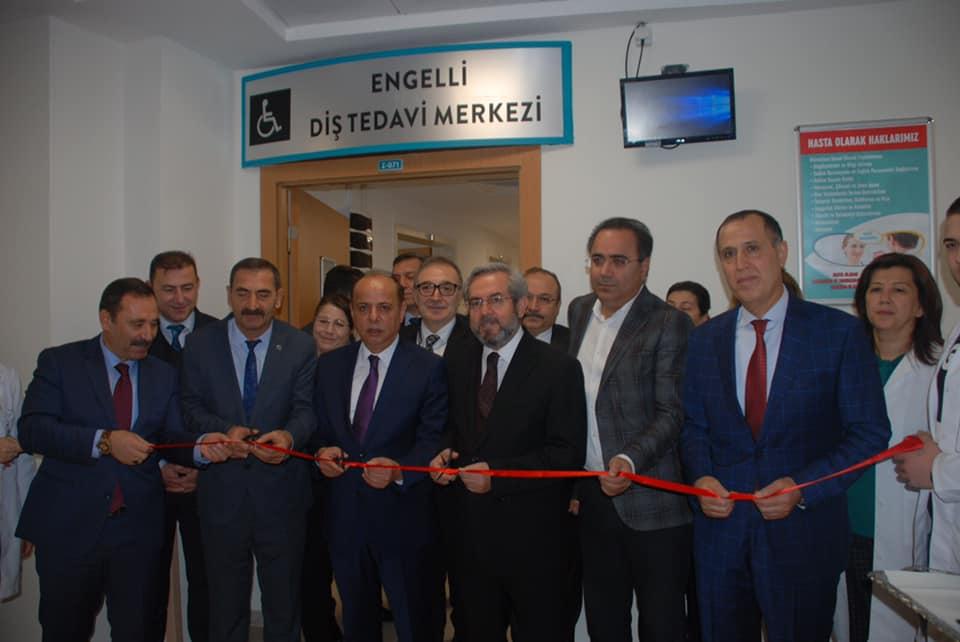 Etimesgut'ta Engellilere Özel Diş Tedavi Merkezi Açıldı