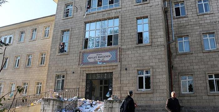 Eski devlet hastanesi binası sahipsiz kaldı