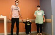 Yunanistan'dan gelen ilikle sağlığına kavuştu