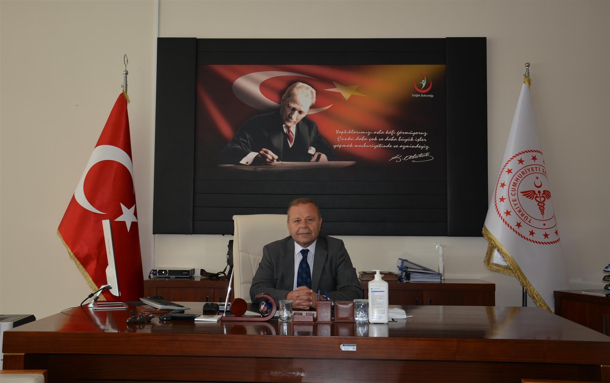 Kastamonu Eğitim Araştırma Hastanesi Yeni Başhekimi Prof.Dr. Zafer Ergül Oldu