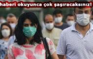 Maskeli enfekte olursanız eğer...