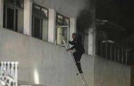 Son dakika: Ankara Dışkapı Hastanesi'nde Yangın