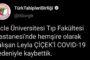 Hemşire Leyla Çiçek'in Covid-19 sebebiyle hayatını kaybetti
