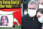 Korona Virüsten Ölen Hemşire Emine Ezen Toprağa Verildi