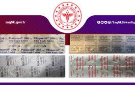 Sağlık Bakanlığından Covit-19 Hastaları İçin İlaç Kullanım Broşürü
