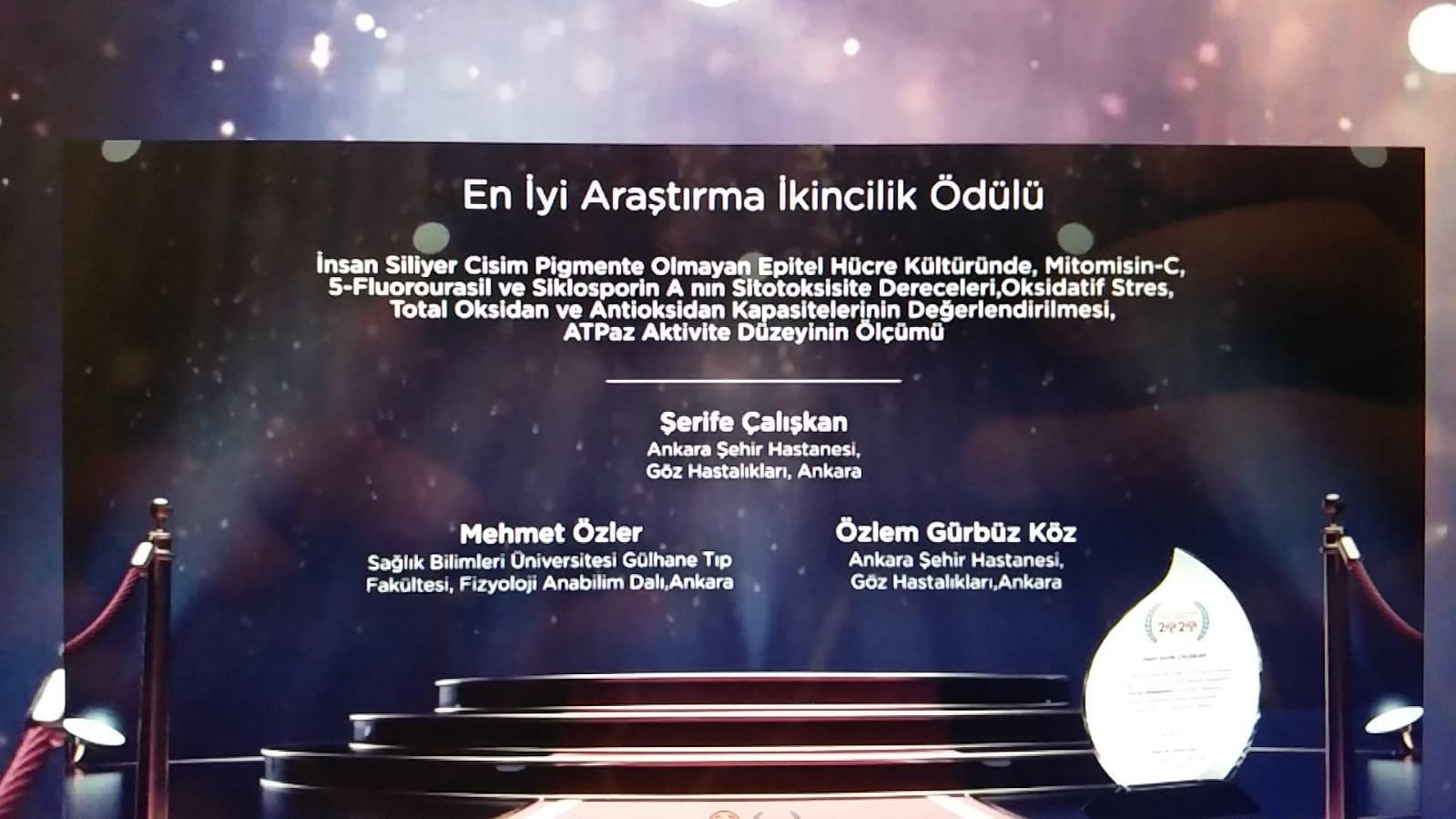 Ankara Şehir Hastanesi Göz Hastalıkları Kliniği