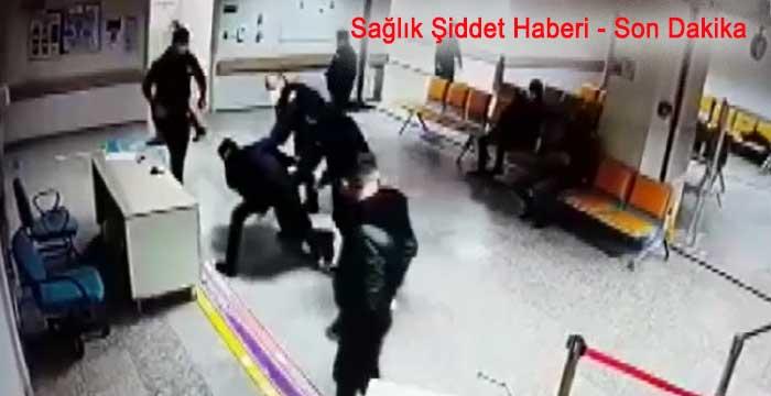 Doktora bıçaklı saldırı kameralarda