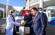 Malatya Büyükşehir Belediyesi'nden sağlıkçılara jest
