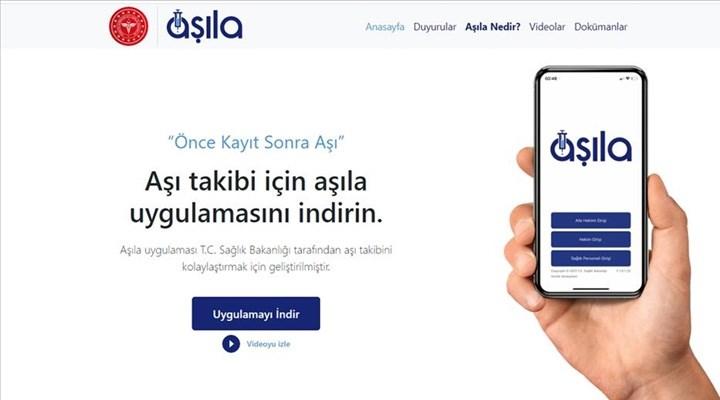 Aşıla mobil uygulaması