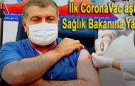 Sağlık Bakanı Fahrettin Koca Aşı Oldu