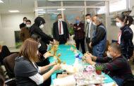 Heykel sanatçısı ve gazeteci yazardan sağlık çalışanlarına destek