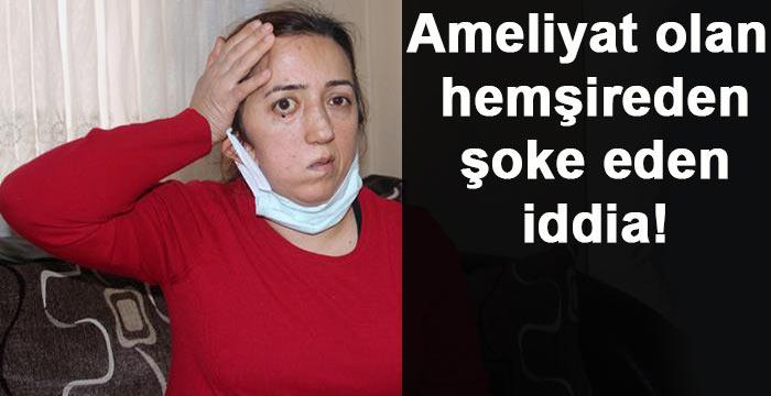 Beyin ameliyatı olan hemşirenin kafatası kemiği çöpe atıldı