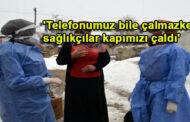Kar-kış dinlemeyen sağlık çalışanları, köylülerin gönlünde taht kurdu
