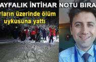 Doktor Mustafa Yalçın 'Kayak yapmaya gidiyorum' diyerek çıktı intihar etti