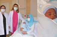 Erzurum Şehir Hastanesi'nde ilk defa suda doğum gerçekleştirildi