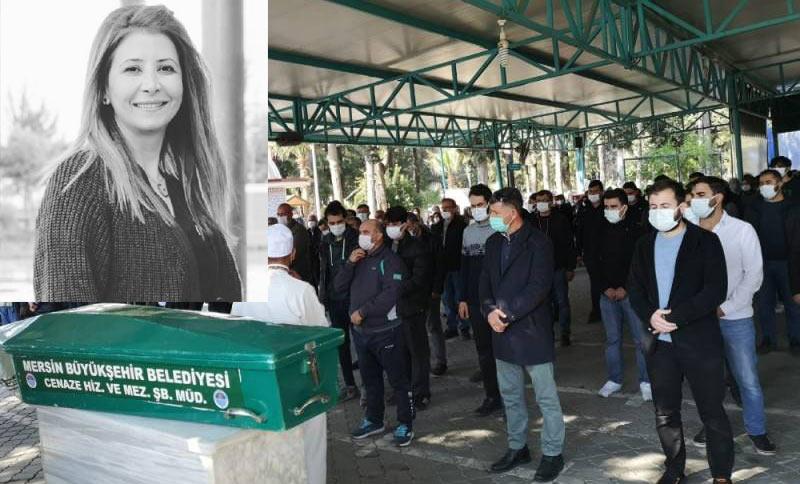 Kazada hayatını kaybeden hemşire Habibe Keser son yolculuğuna uğurlandı