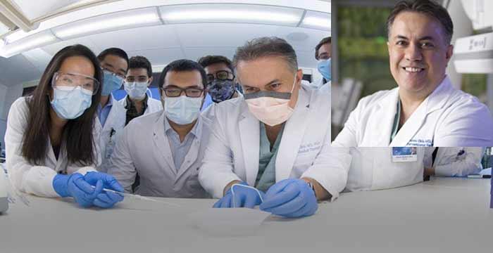 Prof. Dr. Rahmi Öklü kanseri yok eden iğne geliştirdi