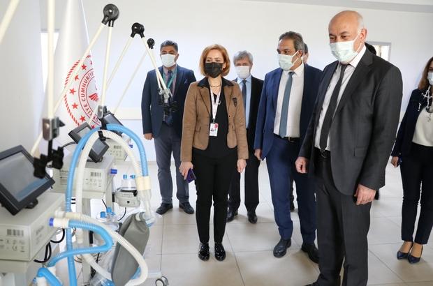 Söke Belediyesi'nden Devlet Hastanesi'ne 4 solunum cihazı