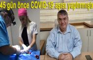 Dr. Ali Rıza Şahap Barlas Aşıya Rağmen Koronadan Öldü