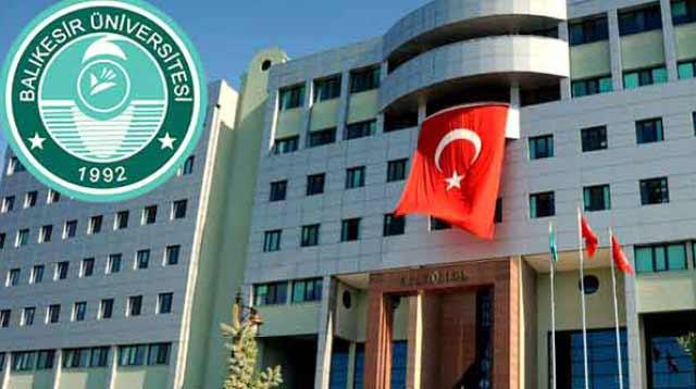 Balıkesir Üniversitesi sözleşmeli personel alımı