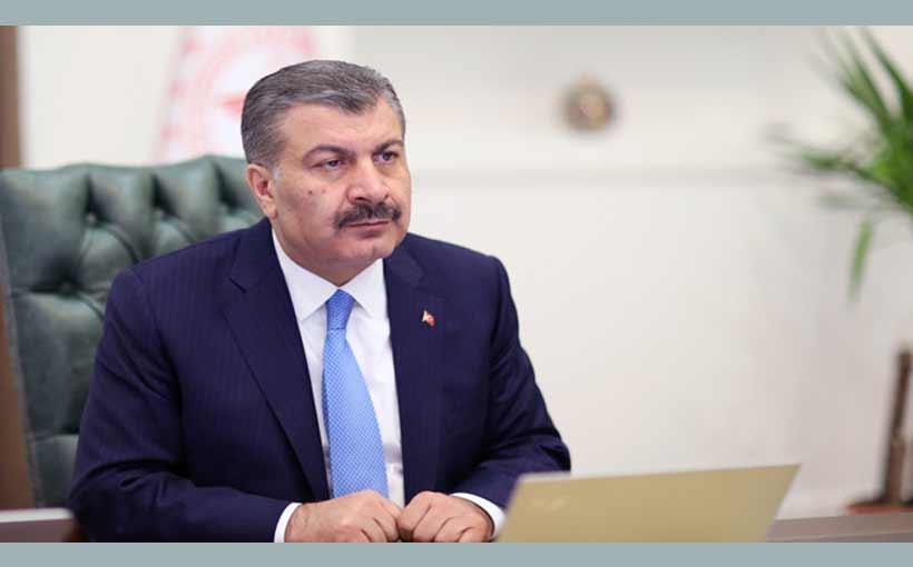 Sağlık Bakanı Fahrettin Koca,Dünya Sağlık Asamblesi'de konuştu