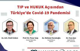 TIP ve HUKUK Açısından  Türkiye'de Covid-19 Pandemisi