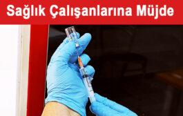 Sağlıkçı Eşleri Aşı Olacak