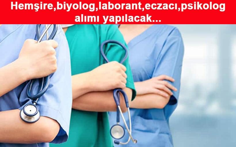 Üniversiteye sözleşmeli sağlık personeli alımı yapılacak