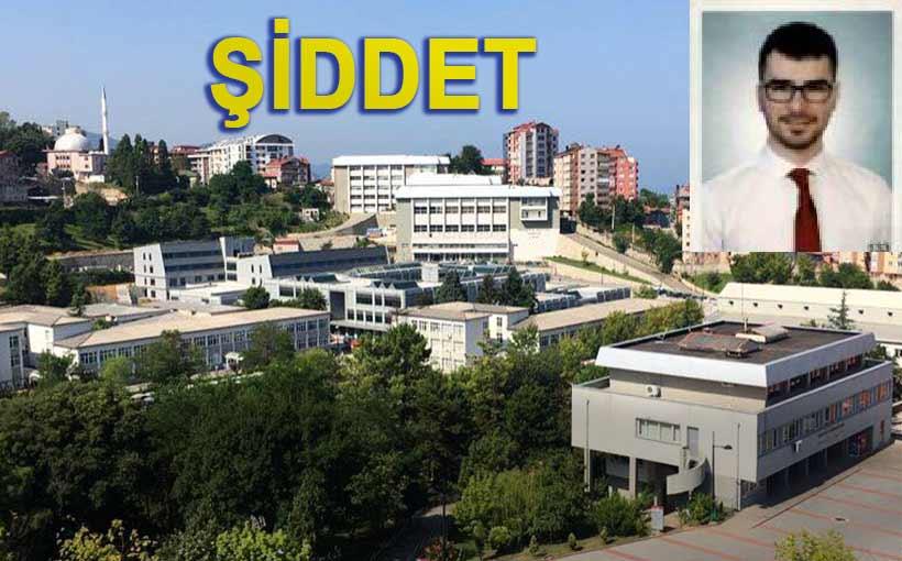 Araştırma Görevlisi Doktor Samet Turhan'a Hasta Yakınları Saldırdı