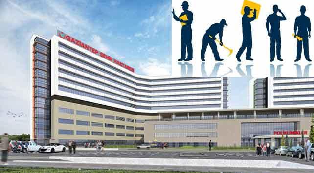 Gaziantep şehir hastanesi personel alımı
